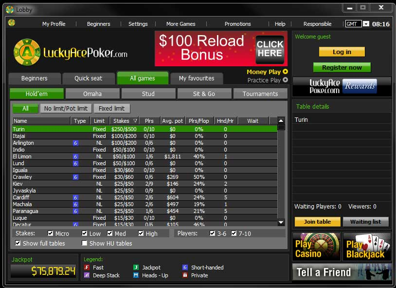 lucky ace poker rakeback programs