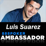 Luis Suarez rejoint l'équipe 888 Poker