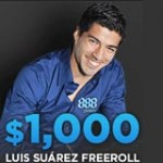Luis Suarez Freeroll 888Pokerturnering