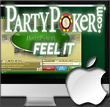PartyPoker Mac poker game has been launched.