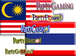Malaysia Thailand PartyPoker, PartyCasino opens allows real money party poker players.