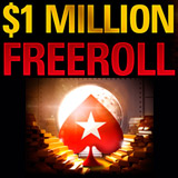 million freeroll turnering pokerstars