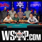 2013 WSOP Main Event Results Final Table
