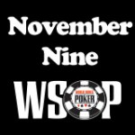 November Nine Finaletafel 2015 WSOP