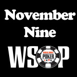 2015 November Nine Finalbordet WSOP
