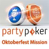 partypoker oktoberfest mission