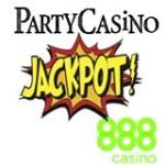Online Casino Jackpots på PartyCasino - 888Casino