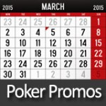 Online Poker Promotions - March 2015