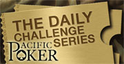 pacific poker daily challenge series