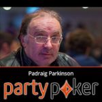 Padraig Parkinson slutter hold Party Poker