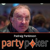 Padraig Parkinson firma squadra Party Poker