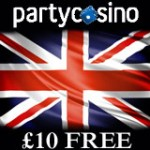 Party Casino 10 Gratis for Britiske Spillere