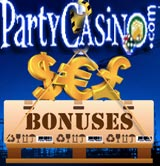 Party Casino code bonus