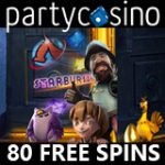 Party Casino Free Spins & Welcome Bonus
