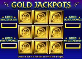 Parte del jackpot del casino