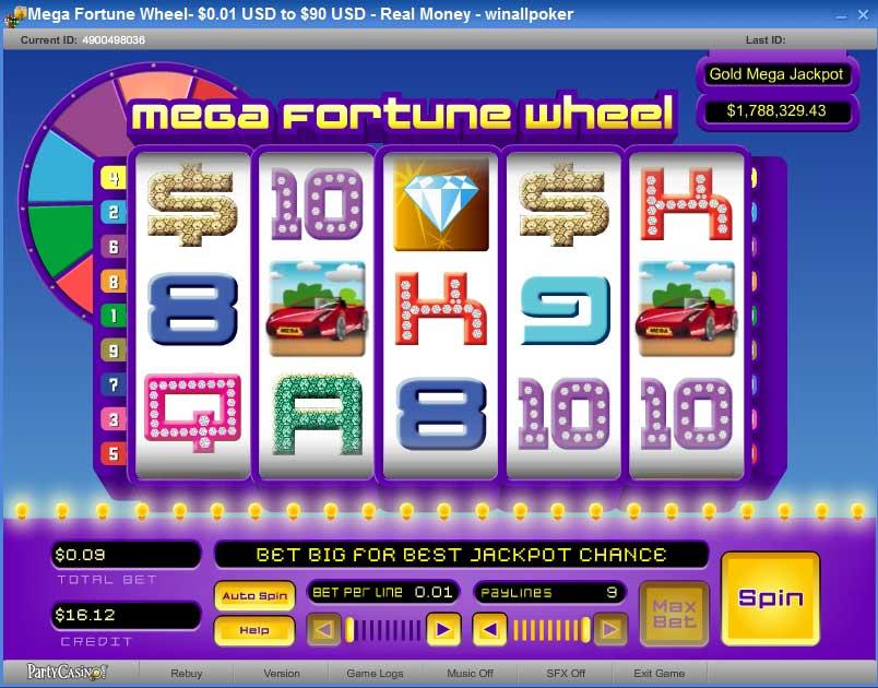 wheel of fortune slot machine online mega joker