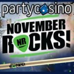 Party Casino November Rocks Promotion