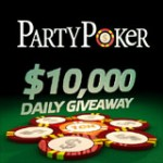Party Poker $10K Daily Giveaway