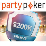 Party Poker $200k Garantert Satellitter