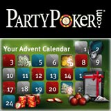 party poker advent calendar
