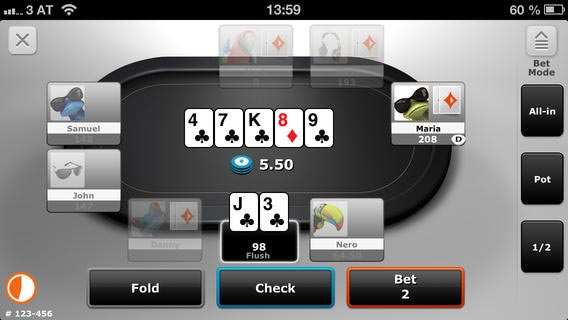 party poker app ipad