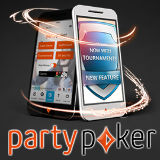 party poker app tournaments