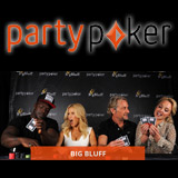 PartyPoker Big Bluff Poker Utfordring