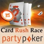 Party Poker Card Rush Race 2014