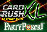 Party Poker card Rush xl