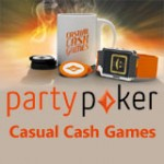 Partypoker introduserer Casual Cash Games