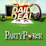 party poker daily deal