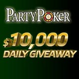 party poker daily giveaway