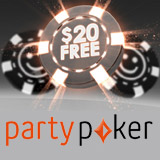 Party Poker Indbetalingsbonus
