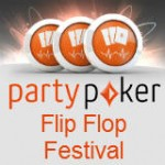 Party Poker Flip Flop Festival Promotie