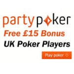 Bonus Party Poker pour Royaume-Uni