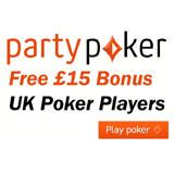 <!--:en-->Party Poker Free £15 Bonus<!--:--><!--:da-->Party Poker Bonus for Britiske Spillere<!--:--><!--:de-->Party Poker Bonus für UK Spieler<!--:--><!--:es-->Bono de Party Poker Reino Unido<!--:--><!--:no-->PartyPoker Bonus Britiske Spillere<!--:--><!--:pt-->Bônus Party Poker para Reino Unido<!--:--><!--:sv-->Party Poker Gratis Bonus för Brittiska Spelare<!--:--><!--:fr-->Bonus Party Poker pour Royaume-Uni<!--:--><!--:nl-->Party Poker Bonus voor Britse Spelers<!--:--><!--:it-->Party Poker Bonus Gratuito per Regno Unito<!--:-->