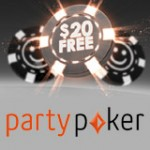 Party Poker $20 Gratis Bonus