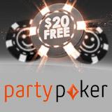 Party Poker Free 20 Bonus