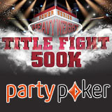 Party Poker Turnering Søndag $500K Garanterte
