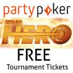 Party Poker Hero SNG Toernooi Promotie
