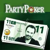 party poker no deposit bonus france