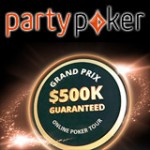 Party Poker Grand Prix-turnering på Nätet