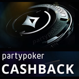 Party Poker Récompense Cashback