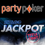 SNG Jackpot Titel Fight Turnering Party Poker