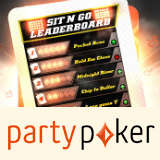 Party Poker SNG Leaderboard Oktober 2014