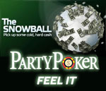 party poker snowball