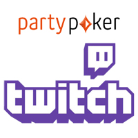 Party Poker ao vivo Twitch