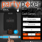 Party Poker App für Windows Mobile