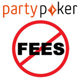 Party Poker uttagsavgifter