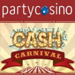 Party Casino Cash-Karneval Förderung